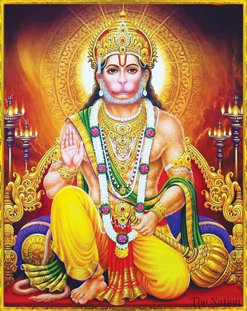 Monkey God Hanuman jayanthi, Hanuman, Hanuman chalisa