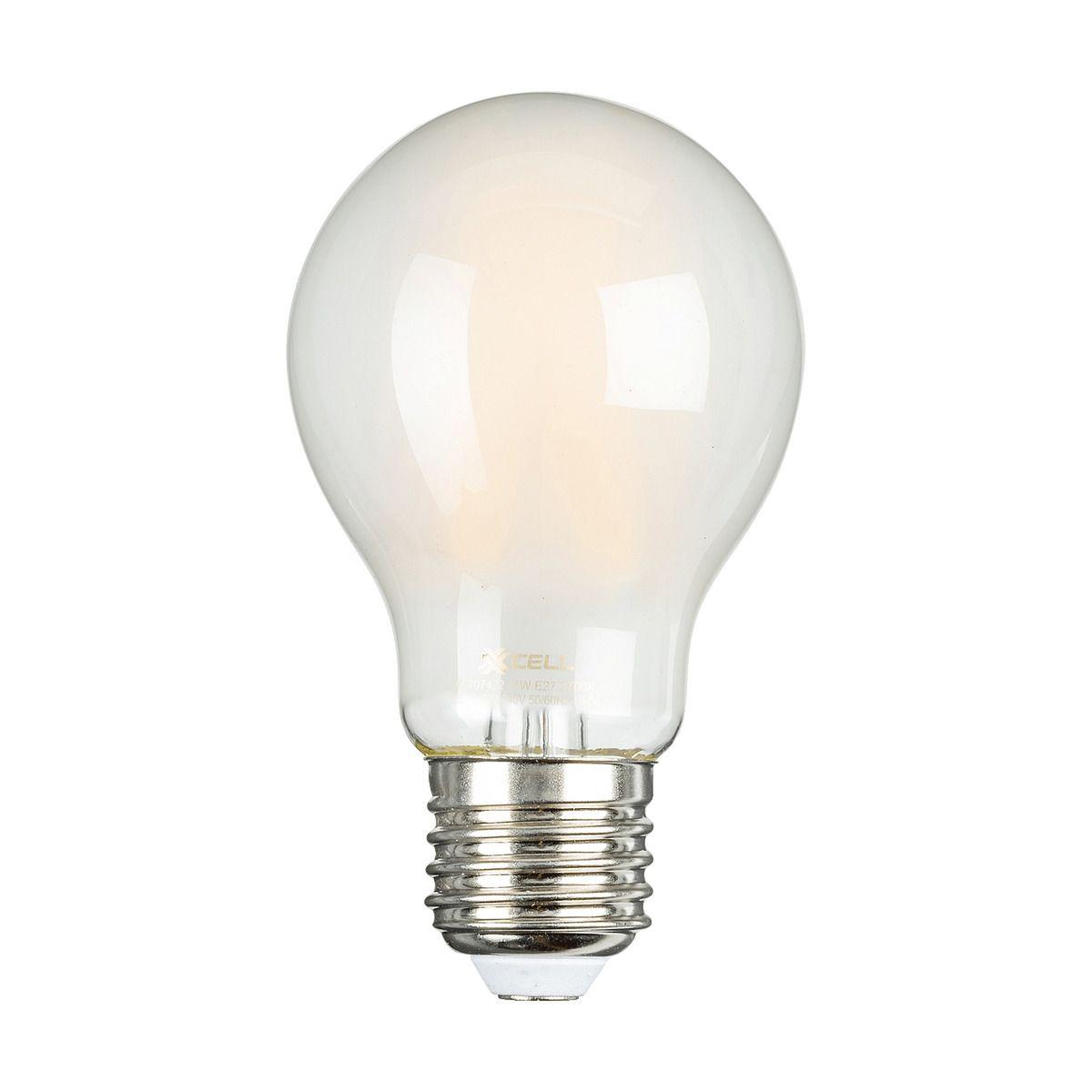 Ampoule Led A Filament Dimmable Culot E27 Blanc Chaud Alinea