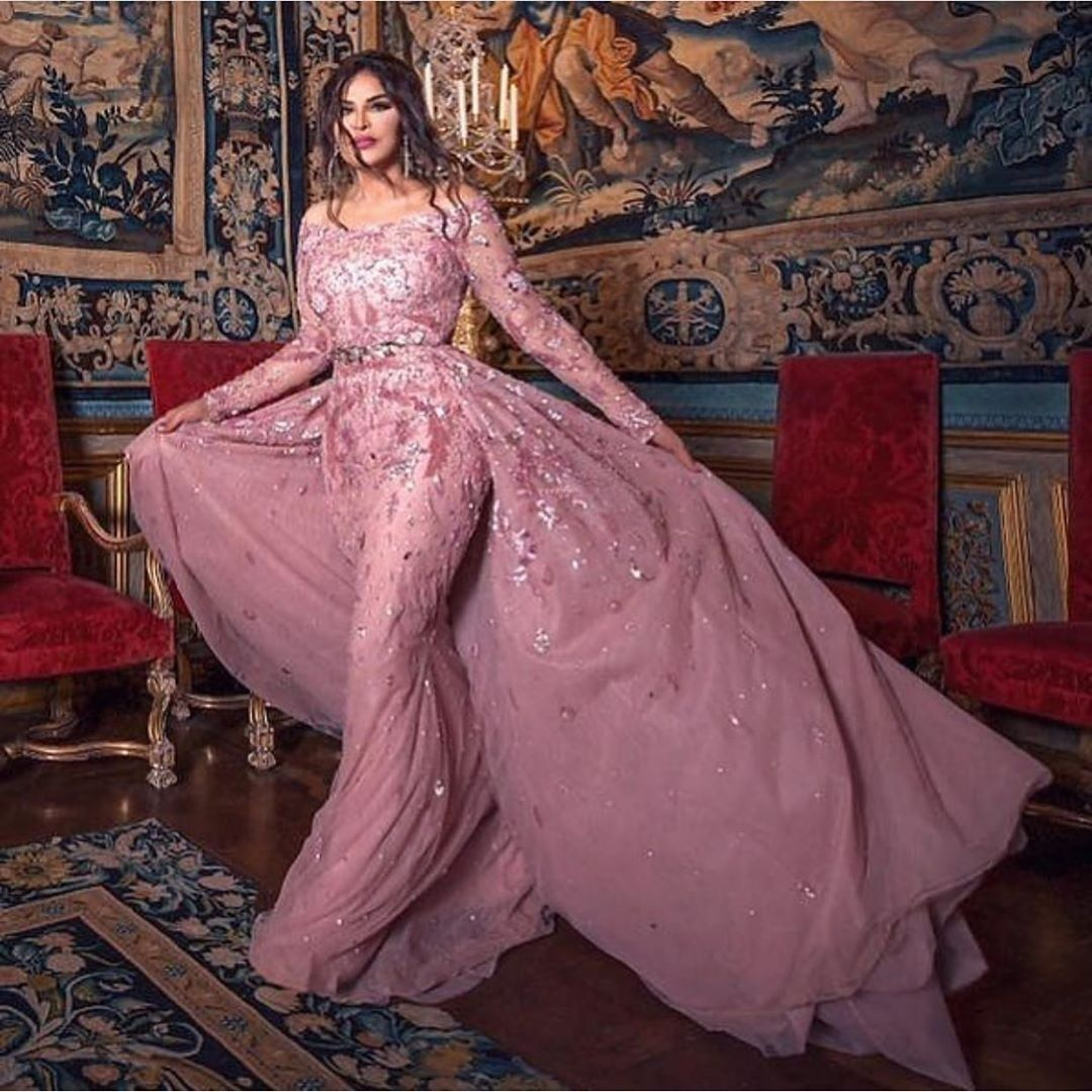 Ahlam Elshamsi In Soiree Dress Designed By Zuhair Murad Egyptian Fashion Soiree Dress Edgy Fashion