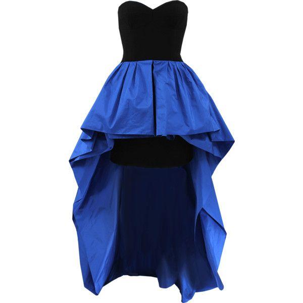 37+ Blue strapless peplum dress ideas