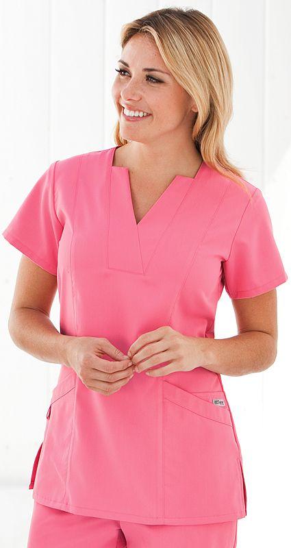 Scrubs - Grey s Anatomy by Barco Mock Inset Scrub Top | N U R S I N ...