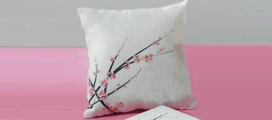 Cojines de flores de cerezo japonés