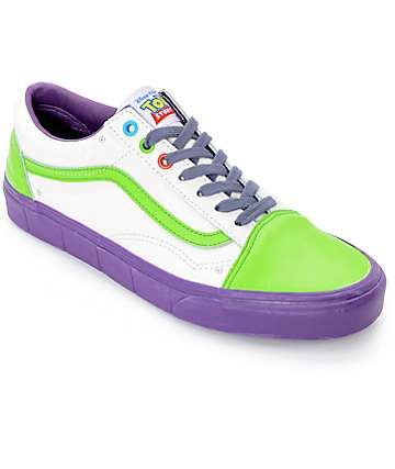 vans mens shoe toy story