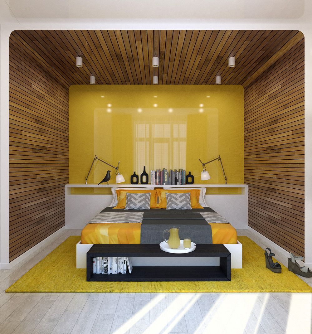 Two Lovely Apartments Featuring Wood Paneling | Simple interior ...