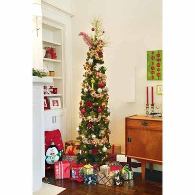 Interactive Page View Pencil Trees Holiday Decor Christmas Decorations