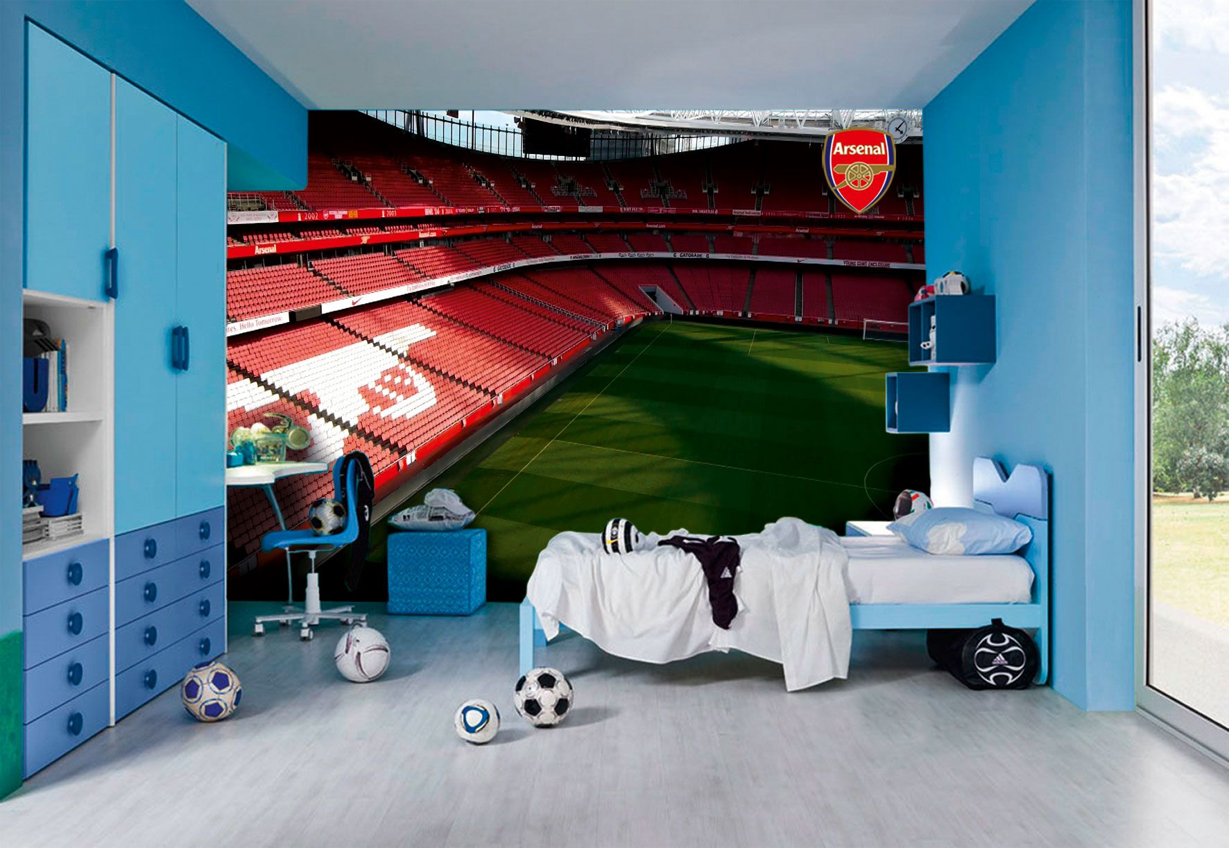 Best Pin Oleh Santi Sasmitha Di Arsenal Rooms Decoration 400 x 300