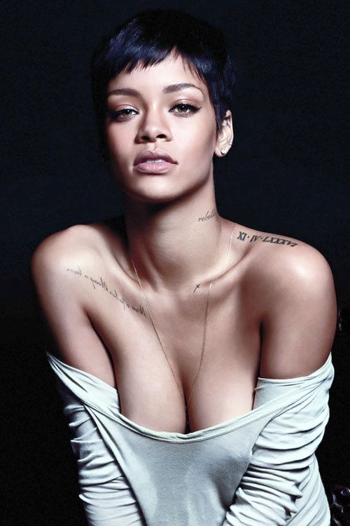 very short hairstyles by rihanna women hairstyles 2017. Black Bedroom Furniture Sets. Home Design Ideas