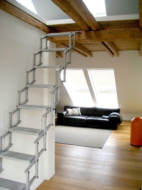 ausbau eines dachgeschosses in hamburg eimsb ttel innenarchitektur geometrische treppen und. Black Bedroom Furniture Sets. Home Design Ideas