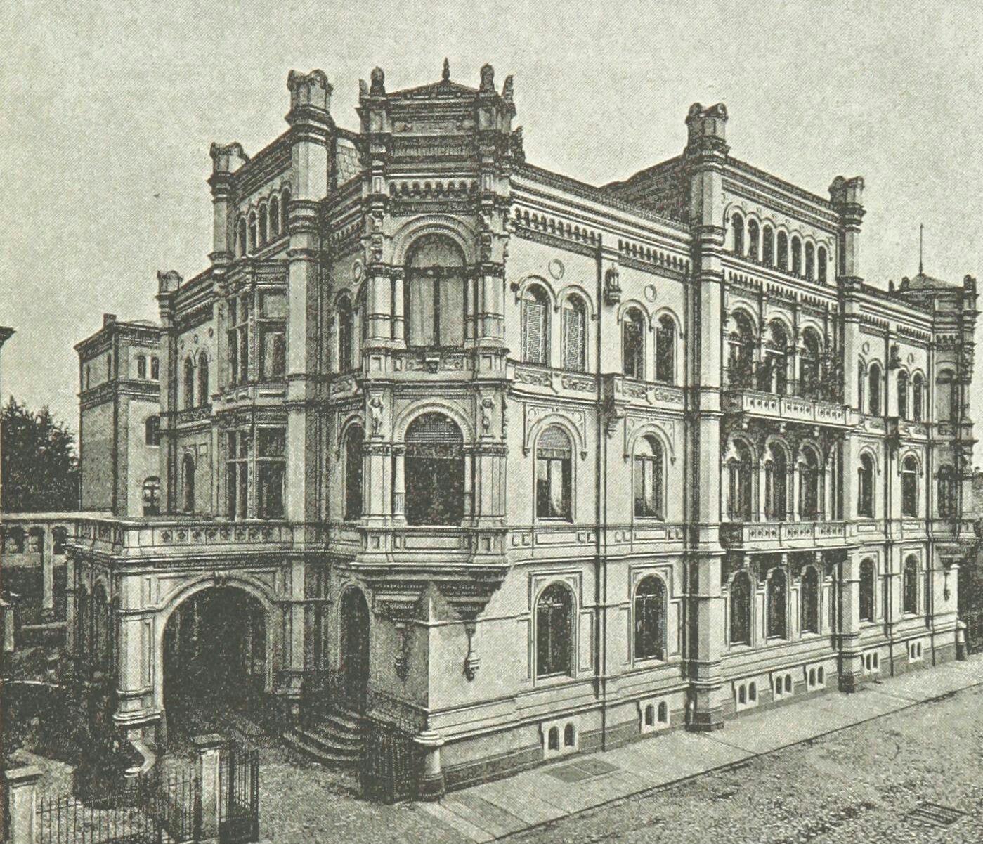 Villa Ernst Keil, Leipzig Möbel/Architektur Architektur