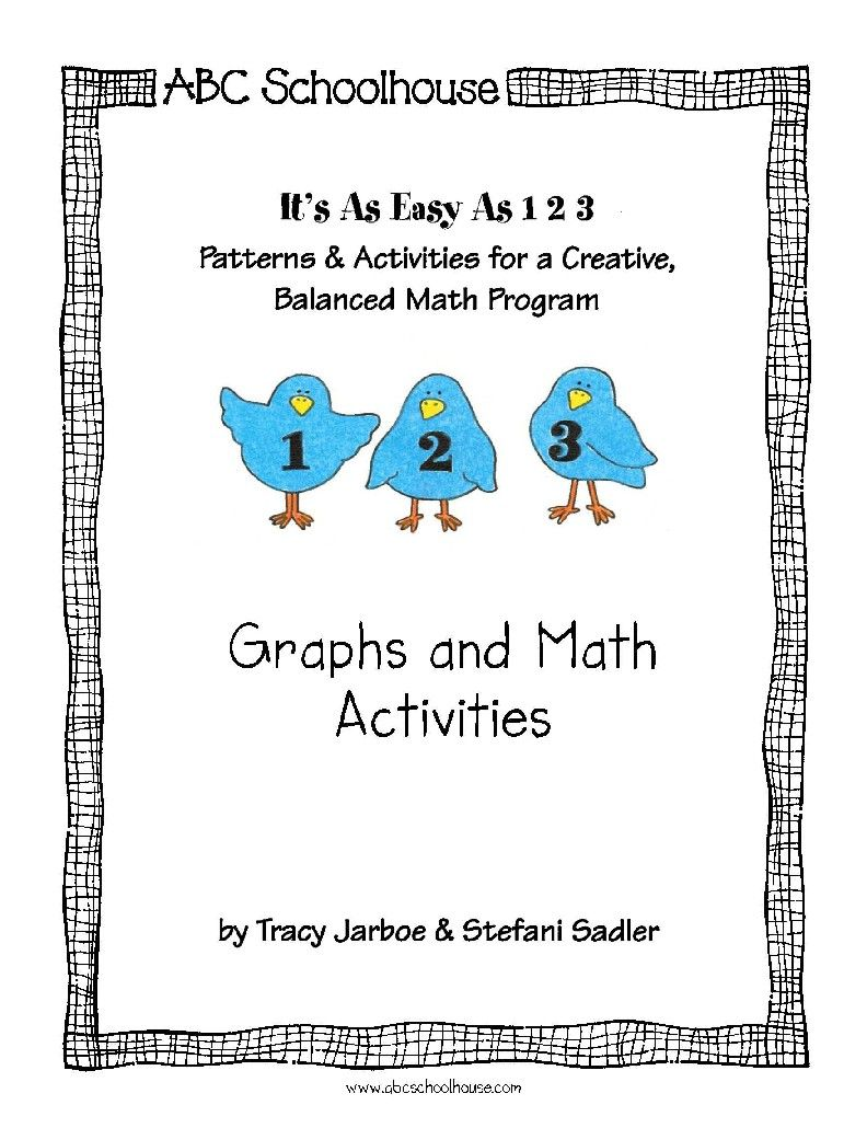 Graphs And Math Activities This Packet Contains A Selection Of