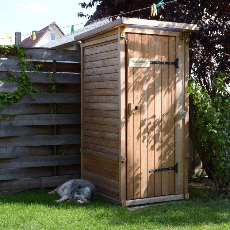 Komposttoilette Mischsystem Gartenfrosch Komposttoilette Aussentoilette Gartentoilette
