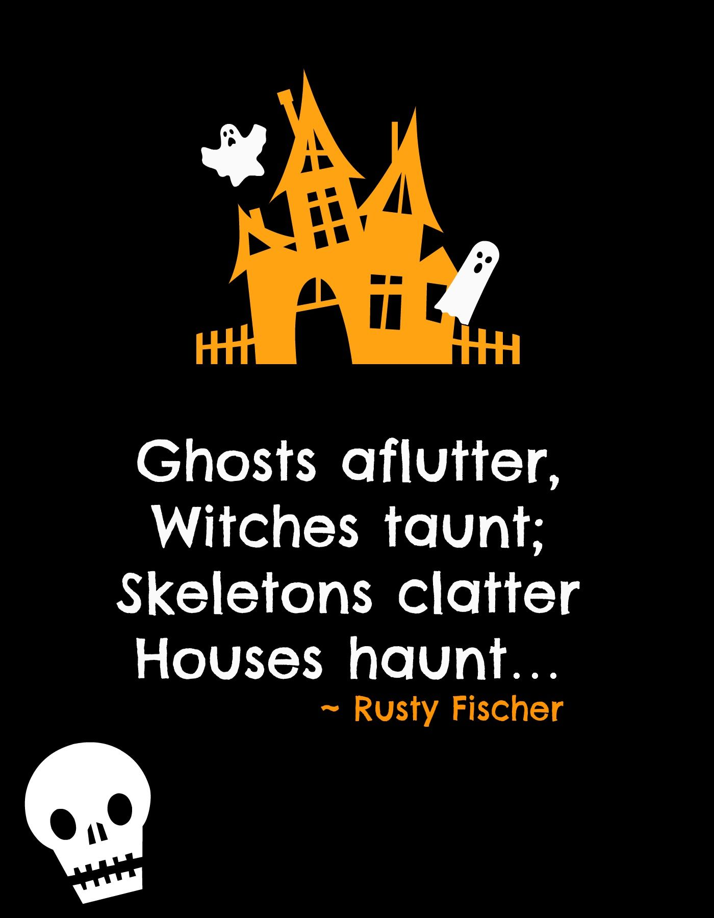 fun halloween poems | www.topsimages