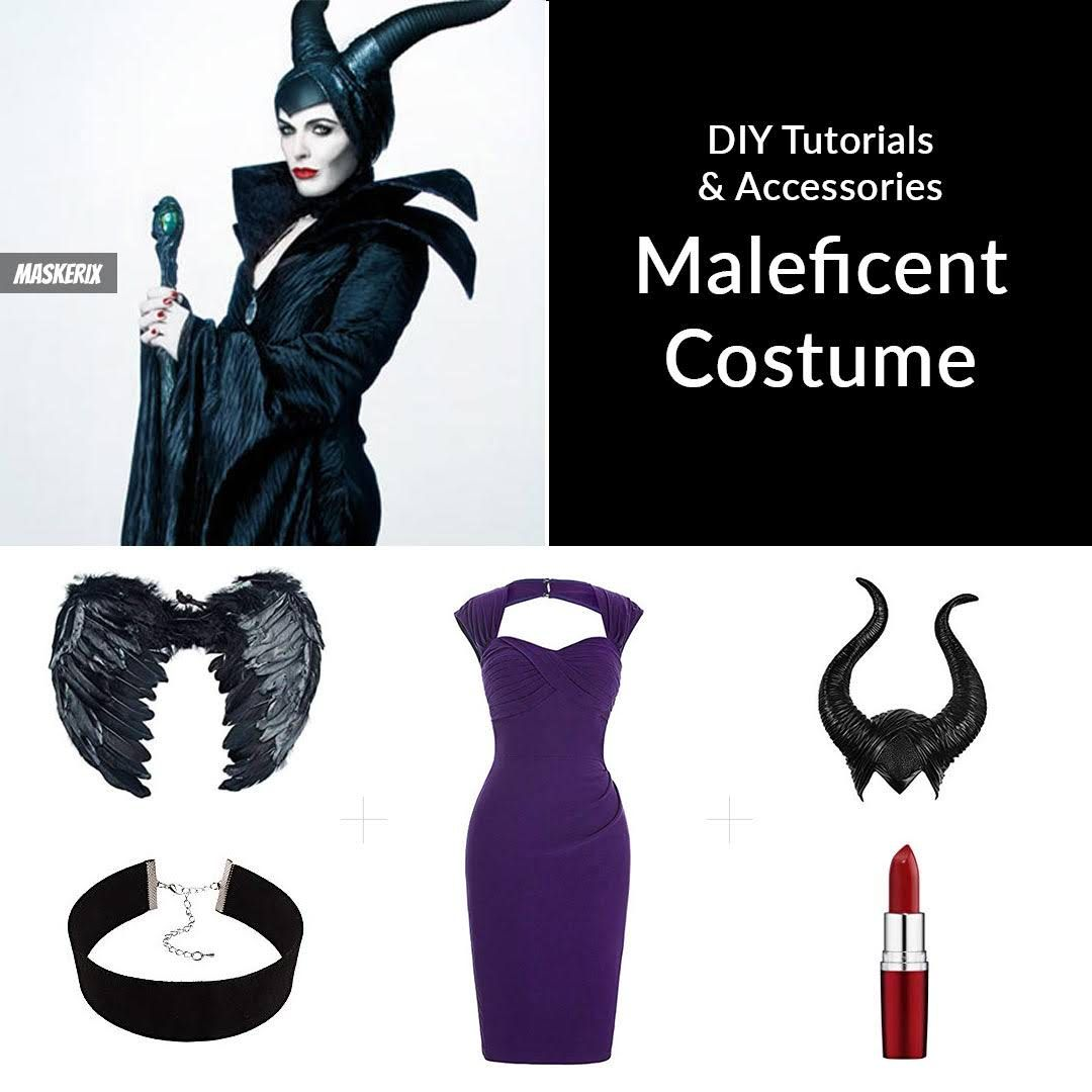 Diy Maleficent Costume Diy Maleficent Costume Ideas