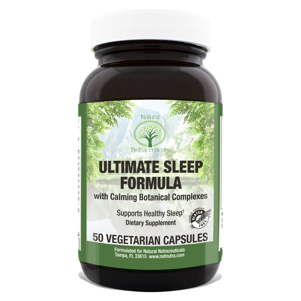 Ultimate Sleep Aid By Natural Nutra A Calming Formula Supports Healthy Sleep With Gaba No Melat Muscle Recovery Supplements Supplements Magnesium Supplements