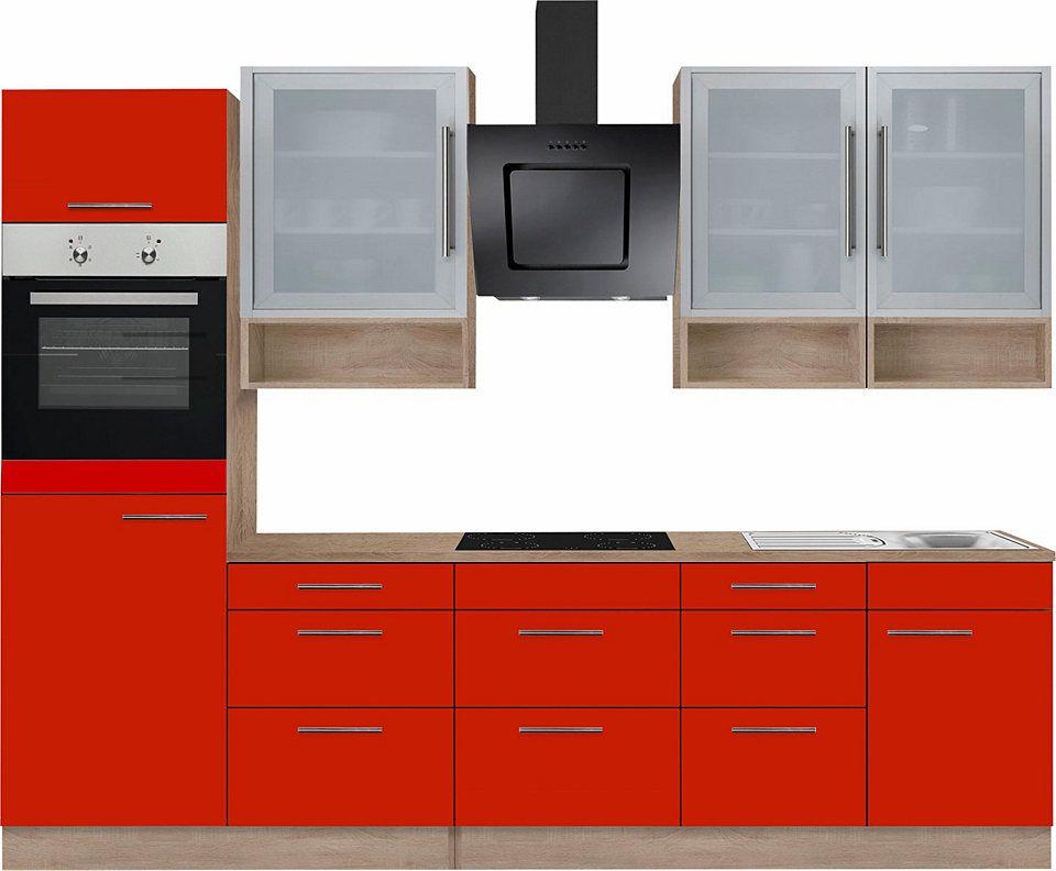 OPTIFIT Küchenzeile mit E-Geräten »Aue«, Breite 280 cm Jetzt ...