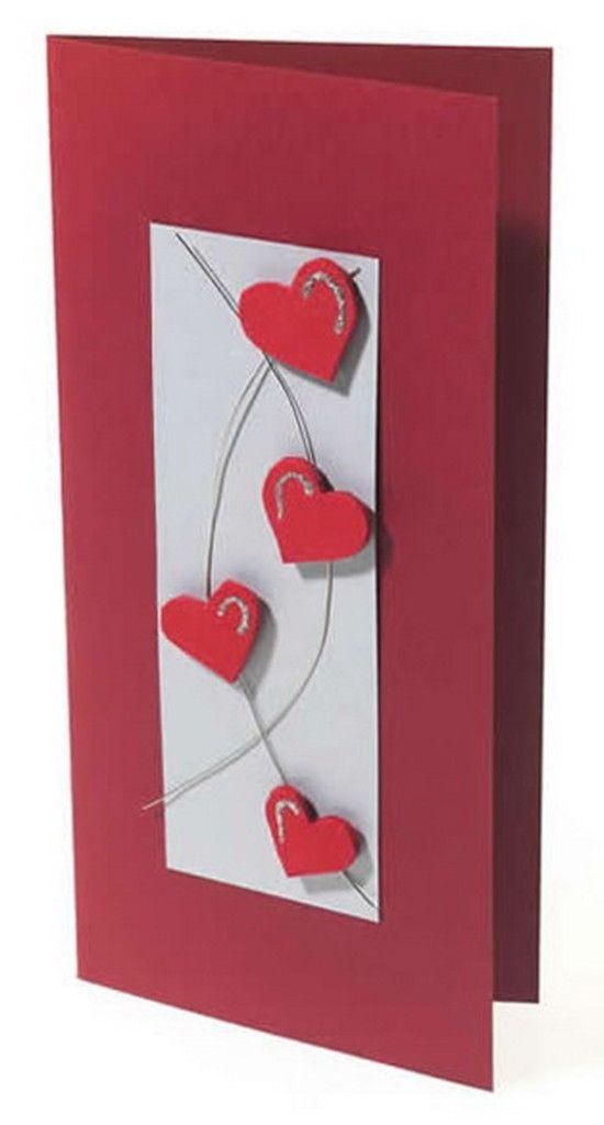 Unique Homemade Valentine Card Design Ideas   family ...