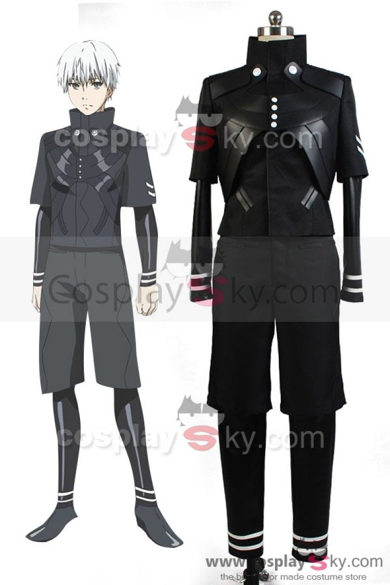 8ae90763fd78 Tokyo Ghoul √A Ken Kaneki Jumpsuit Battle Uniform Cosplay Costume, made in  your own measurements