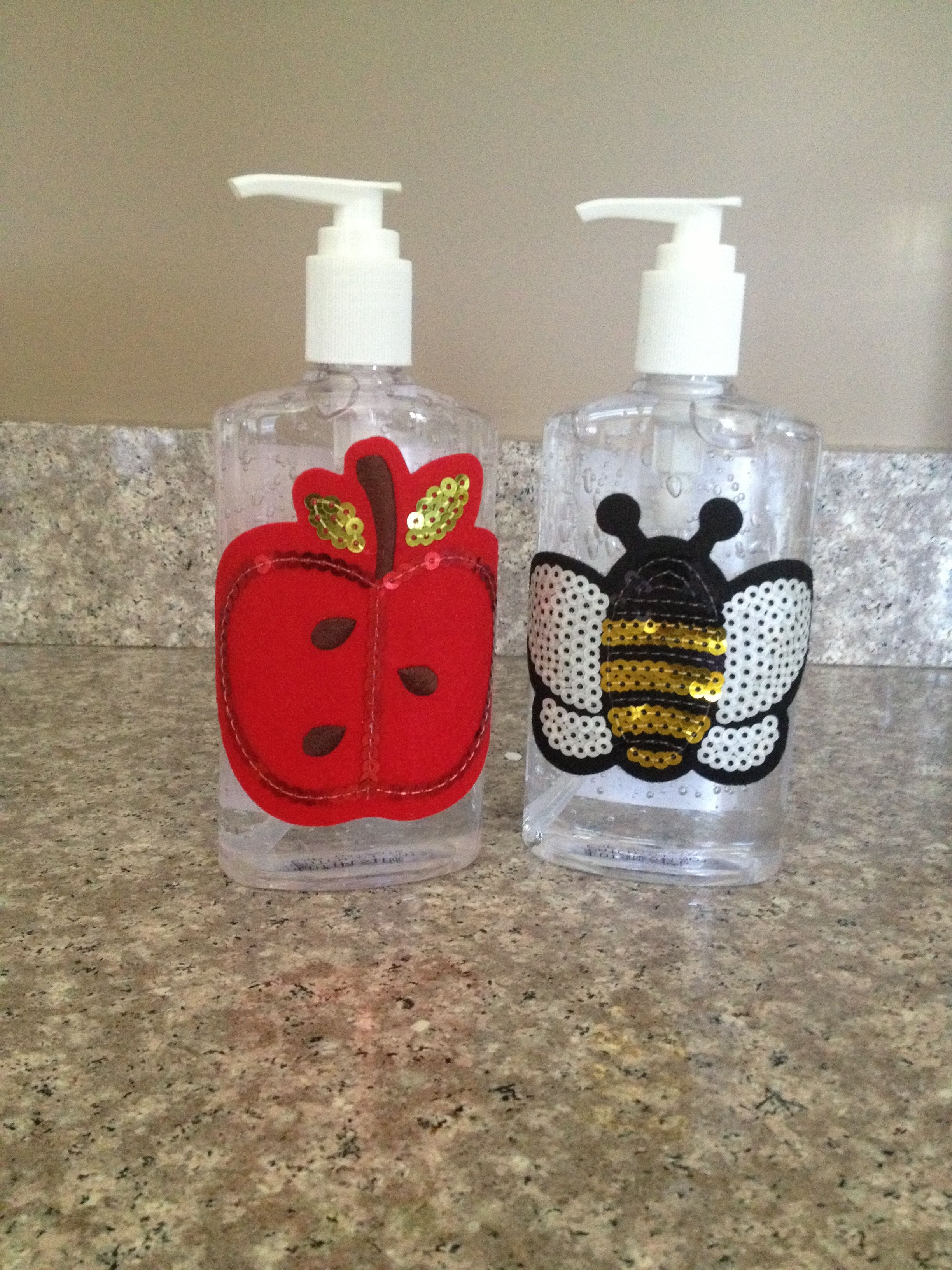 Great Teacher Gifts Dollar Store Hand Sanitizer And Big Felt