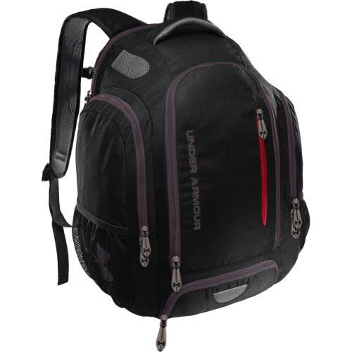 3bb57a7e4d Under Armour UA Innovate Backpack (Black/Red/Charcoal) Under Armour ...