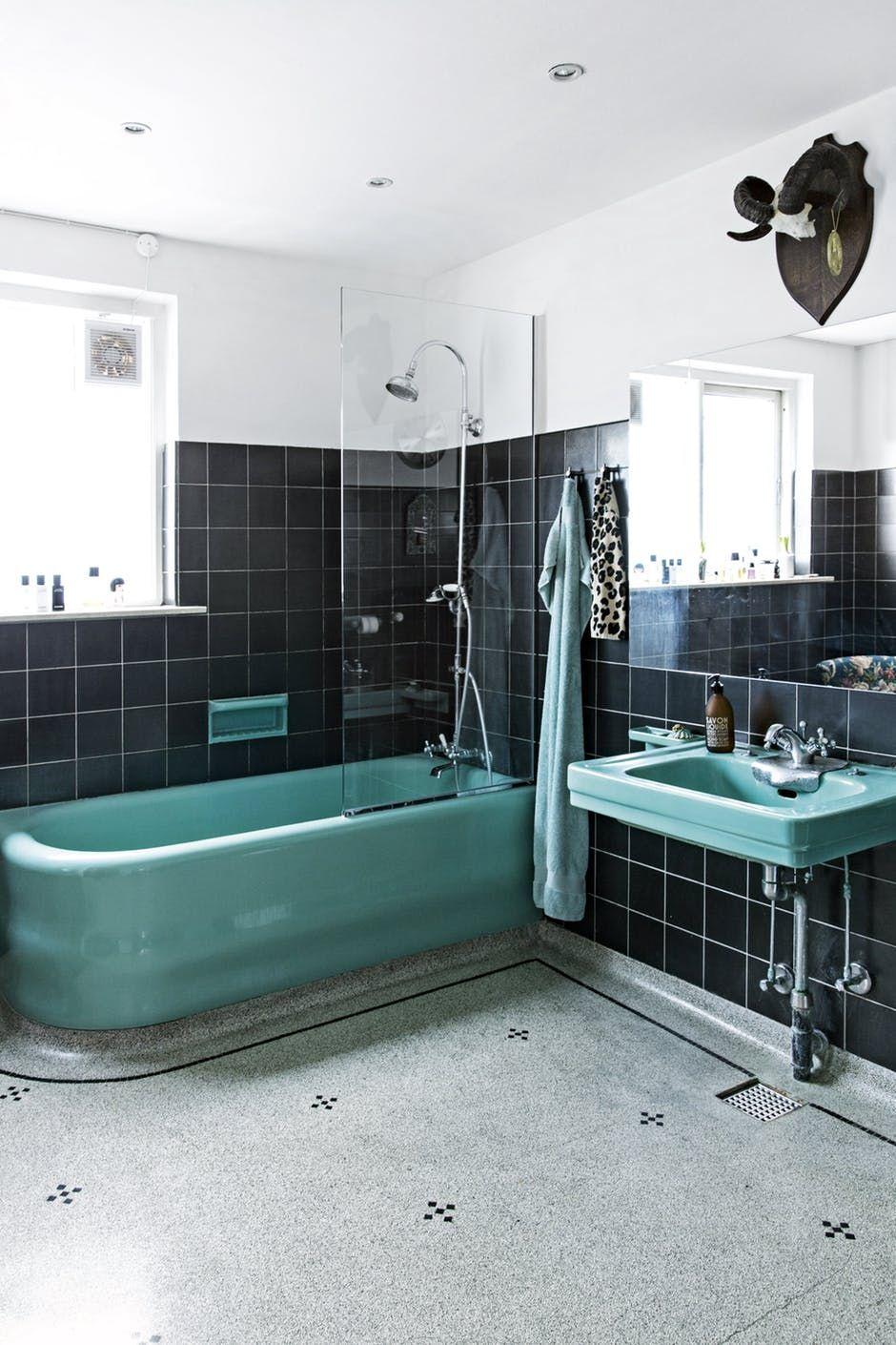 5 flotte og farverige badeværelser Bathrooms remodel