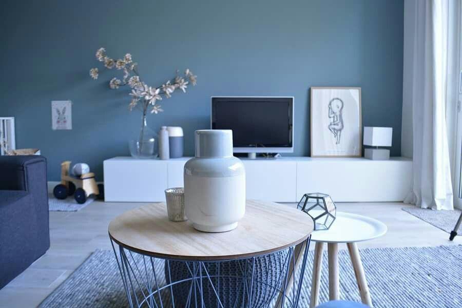 Blauwe woonkamer ~ Inflatable blue histor kleur woonkamer huiskamer