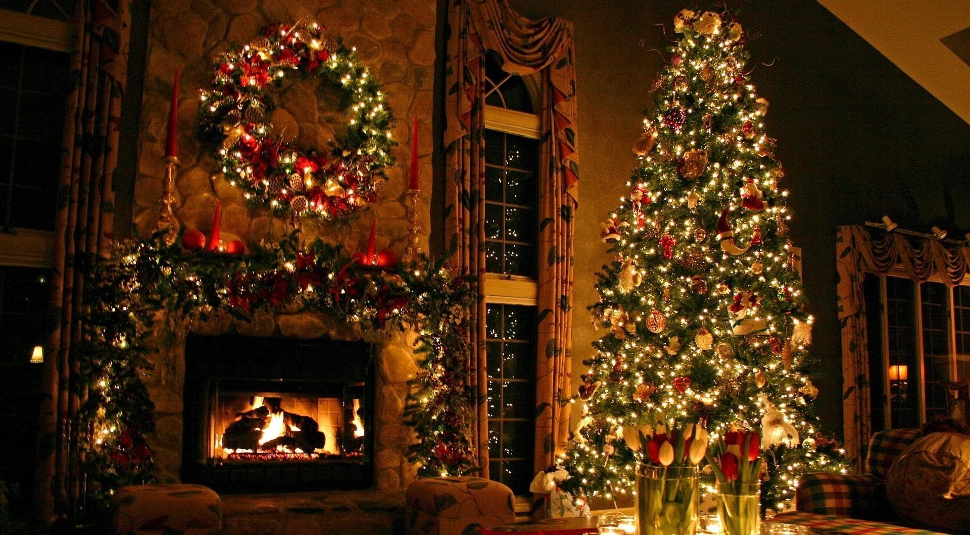 Houses Decorated For Christmas Inside decorate inside house for christmas |  home design ideas o_o