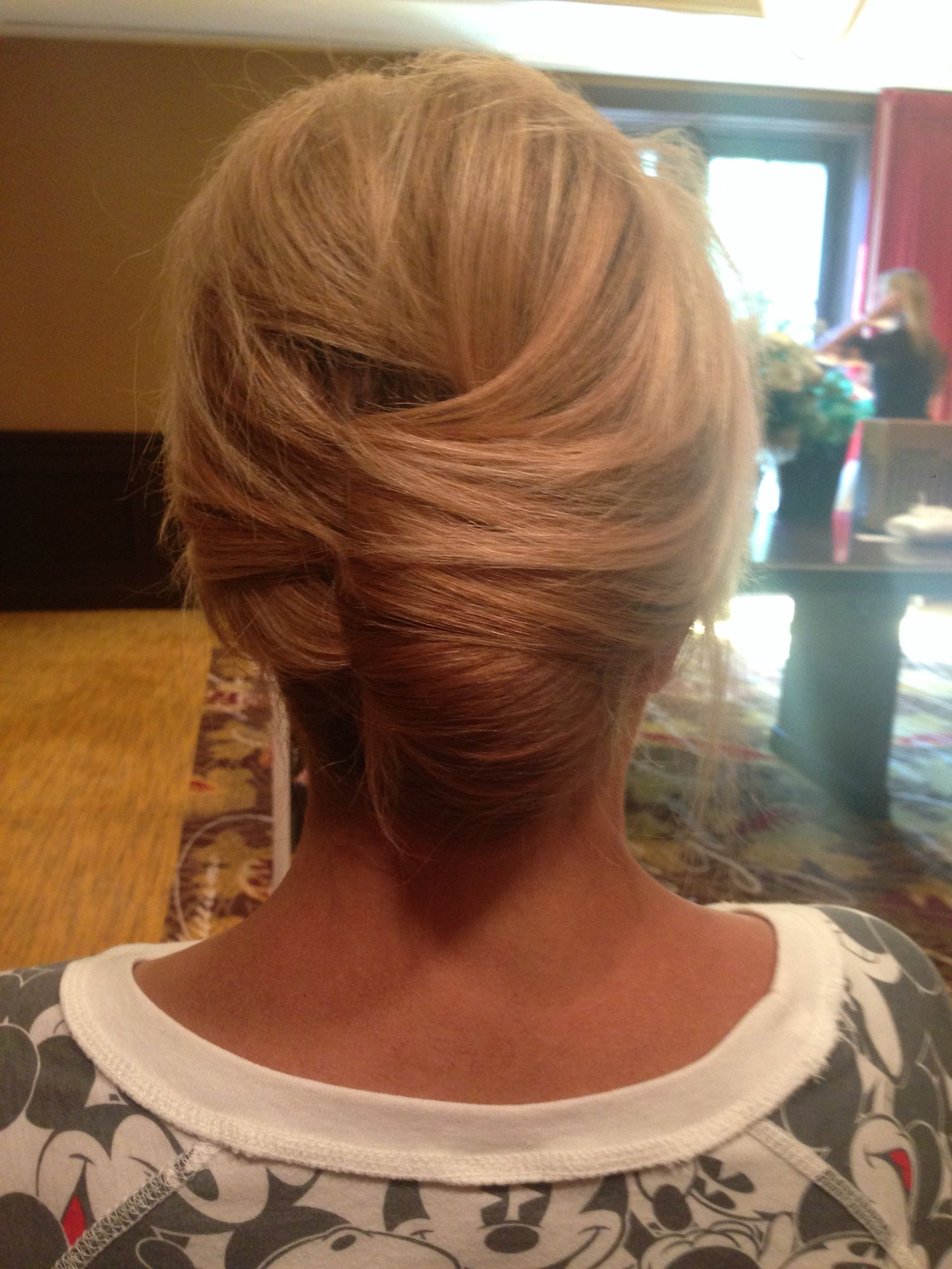 Classic French Twist Updo Bridal Hair Mother Of The Bride