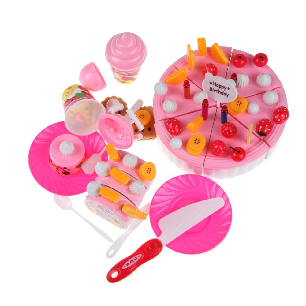 Birthday toys images  Birthday Cake Toy Children Kids Educational Classic Toy Baby Pretend