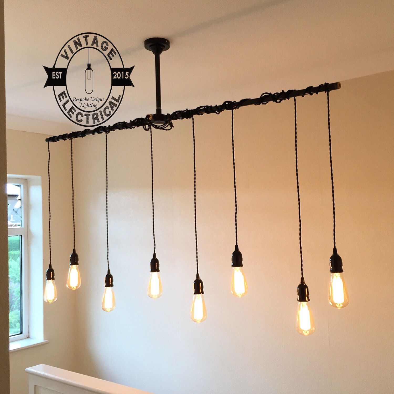 The Thornham 8 x pendant drop light hanging lights ceiling dinning