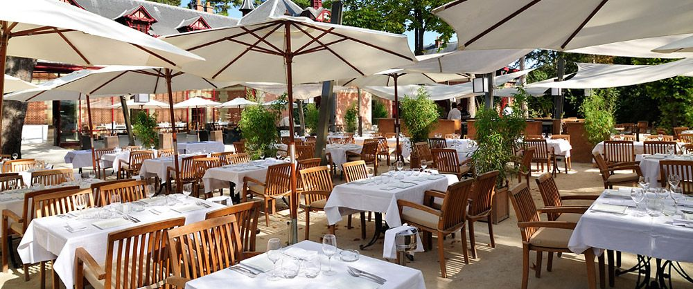 Les jardins de bagatelle coffee bar restaurant - Jardin de bagatelle restaurant ...