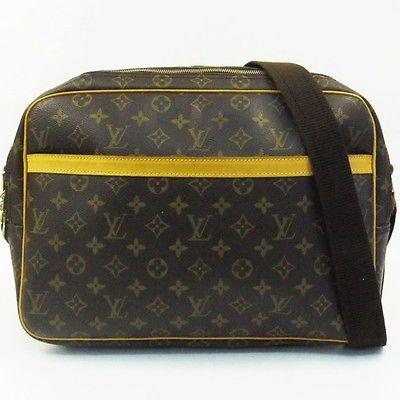 3f254db03625 Auth LOUIS VUITTON Reporter GM Monogram M45252 Shoulder bag Purse LV 184811