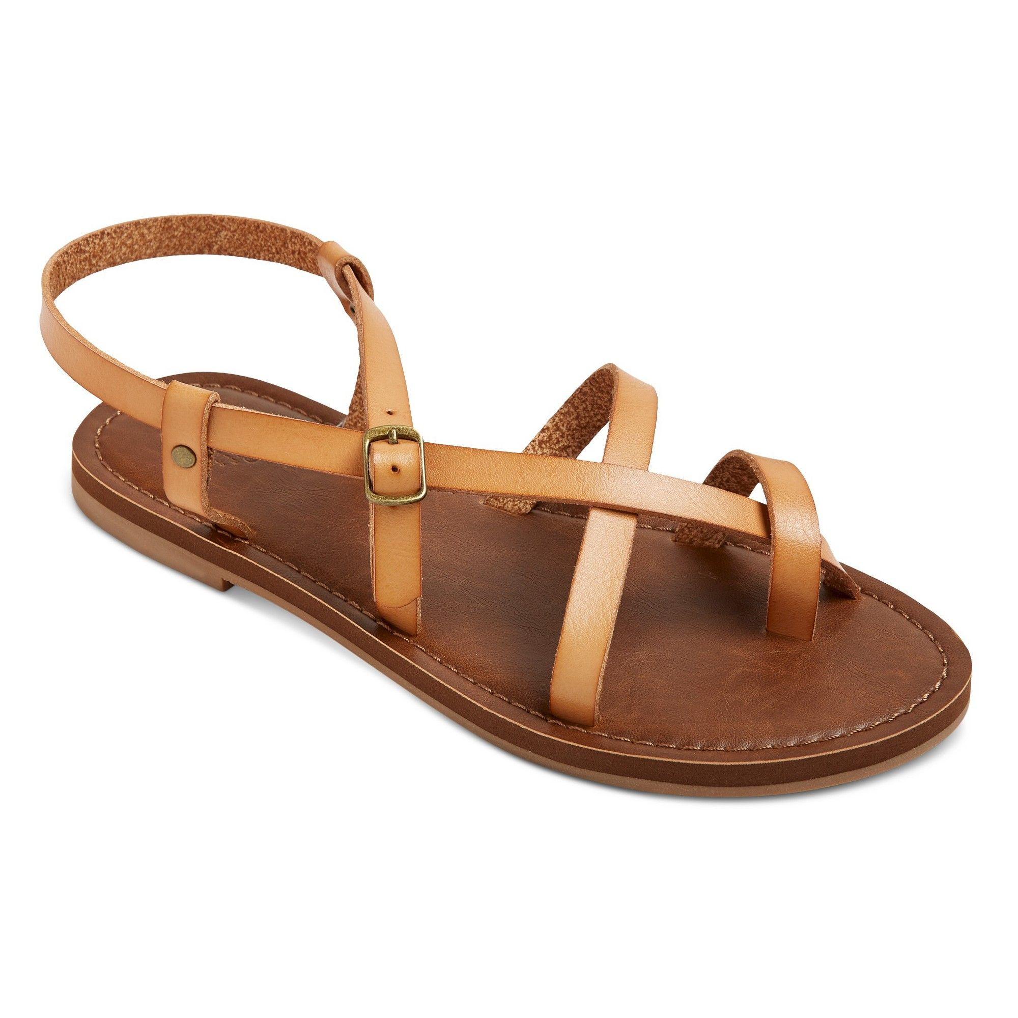053d73a5d631 Women s Wide Width Lavinia Thong Sandals - Mossimo Supply Co. Tan 5.5W