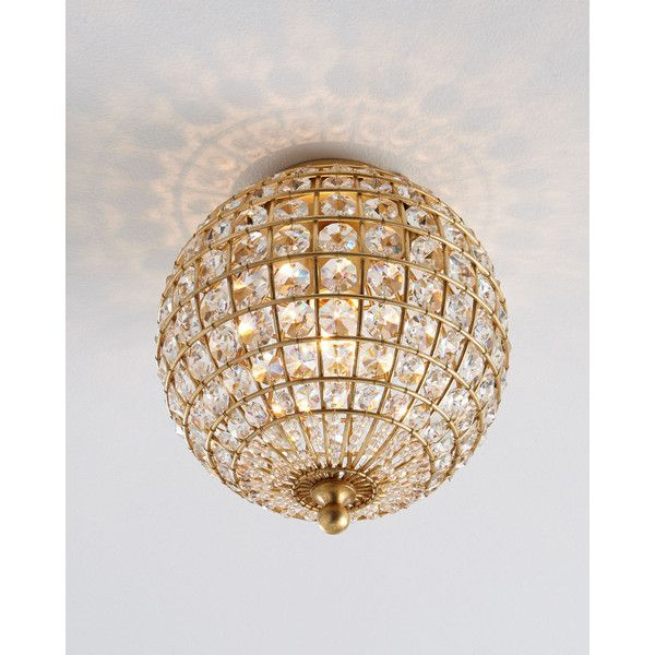 Aerin Renwick Small Flush Mount Ceiling Fixture 750 Liked On Polyvore Featuring