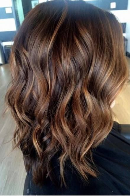 Best Hair Color Ideas For Brunettes Curly Ombre Colour Ideas Brown Hair With Highlights Cool Hair Color Brown Hair With Highlights And Lowlights