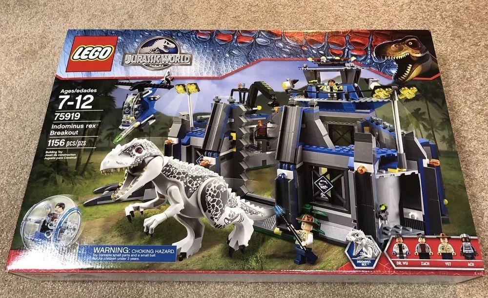 LEGO Jurassic World 75919 Indominus rex Breakout *Brand