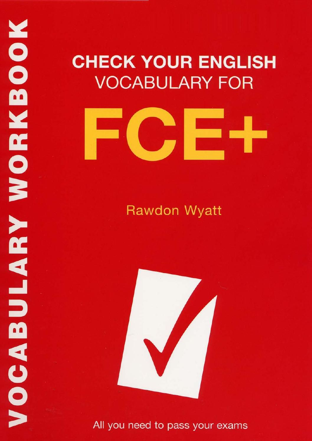 TEST YOUR VOCABULARY FOR FCE PDF DOWNLOAD