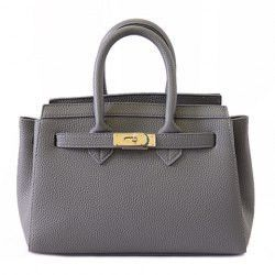 Stylish Style Solid Color And Pu Leather Design Women S Tote Bag