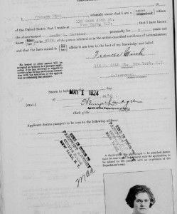 U. S. PASSPORTS  If your ancestors ever had a passport from the United States you will want to see if the passport application is available through the free FamilySearch  site. The available passports information / images on the site from the United States is over 3 million. The years covered are 1795-1925, many decades worth. #passports #USA #genealogy #history