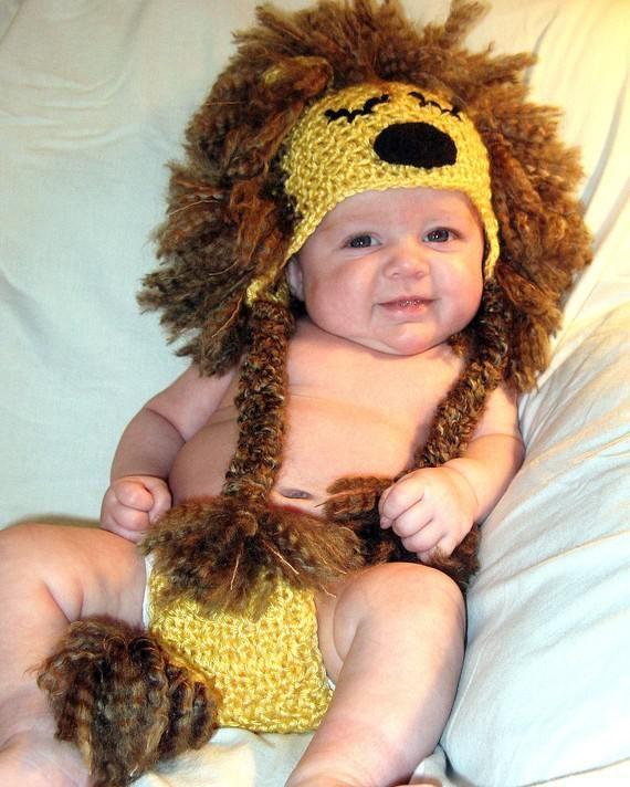 gorro de leon para adulto tejido a crochet - Buscar con Google ... 71dc9b70a90