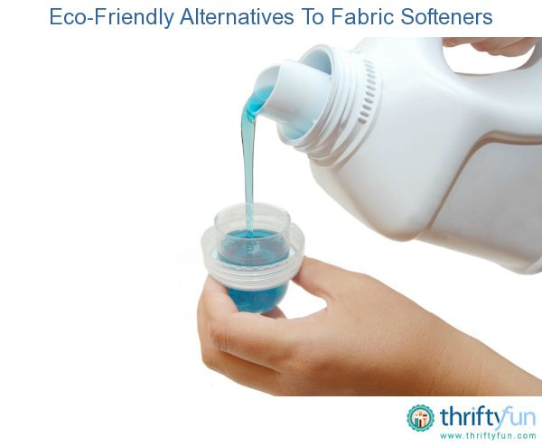 Eco Friendly Alternatives To Fabric Softeners Natural Laundry