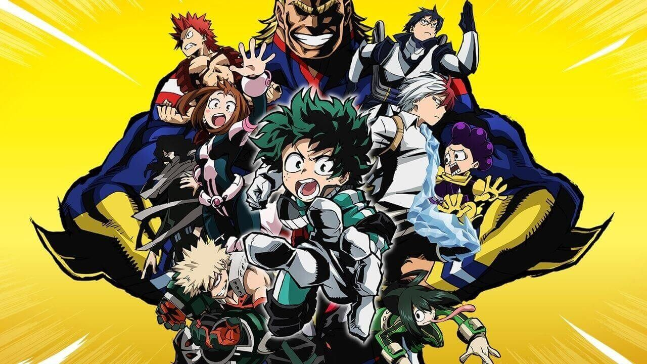 "Is ""My Hero Academia"" on Netflix? My hero academia"