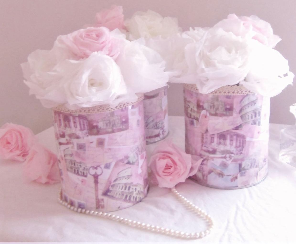 Love In Rome Centerpiece | Ideas para manualidades | Pinterest ...