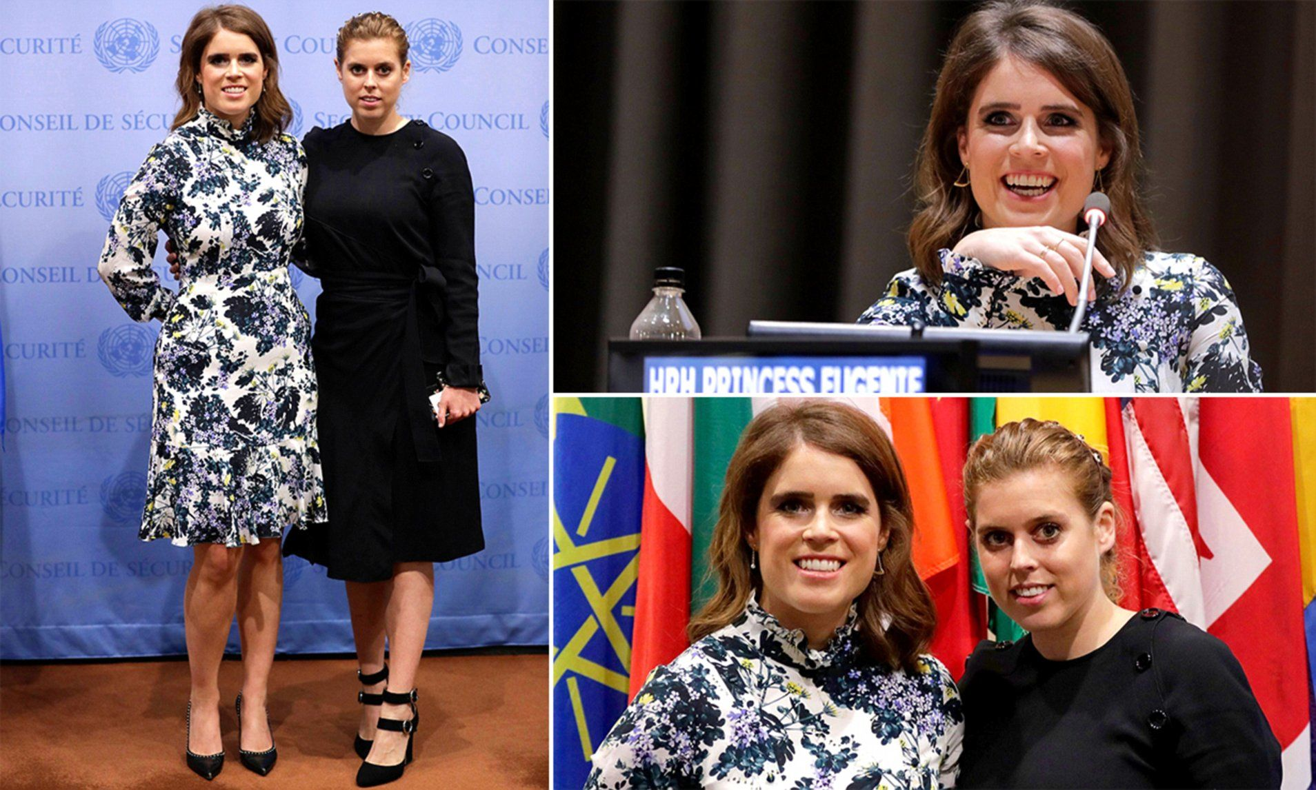 Princess Eugenie hosts meeting at the UN in New York (With