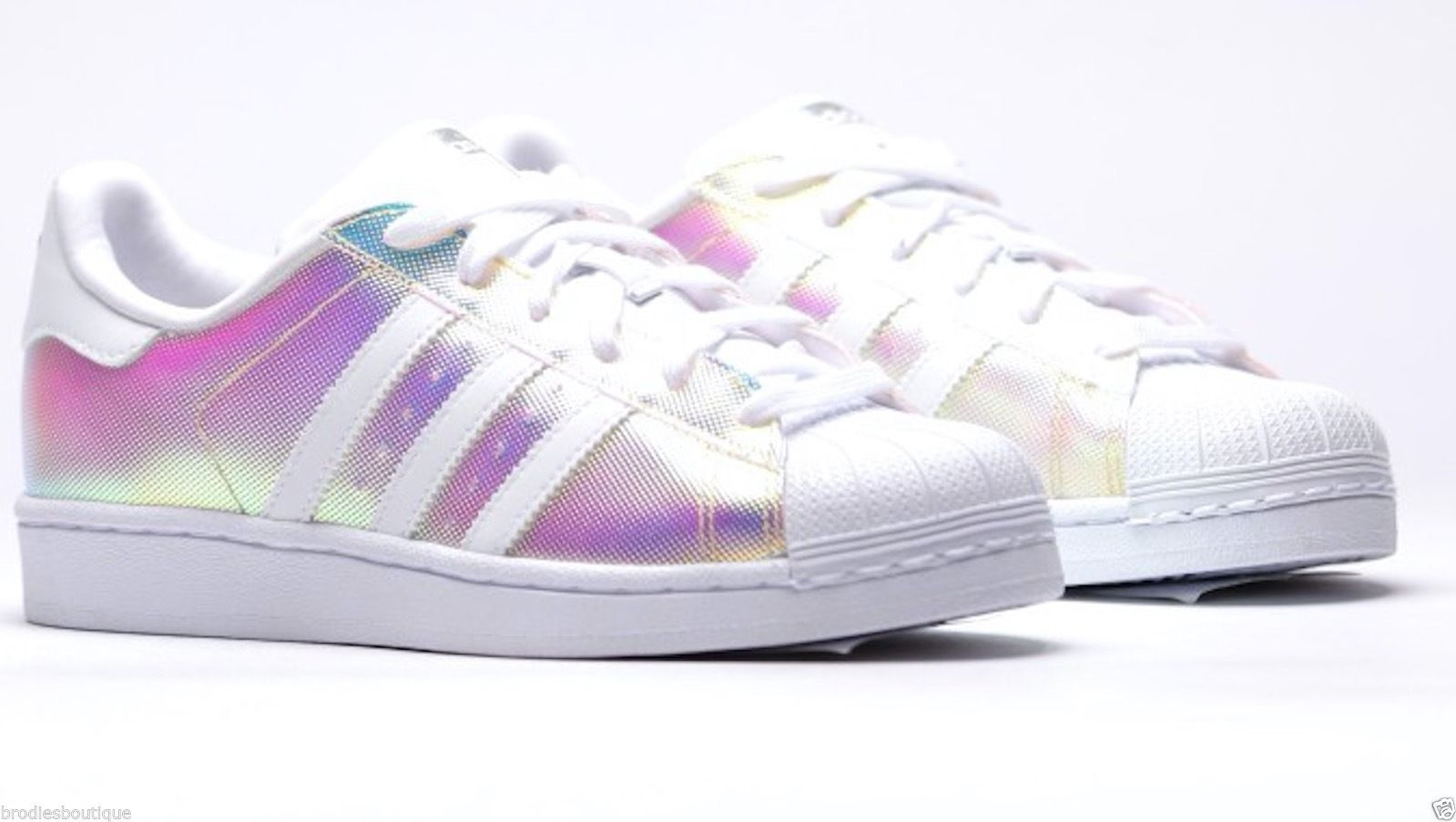 "adidas Superstar 80s W ""Disco / Mirror Ball"" Multicolour Iridescent S81644"