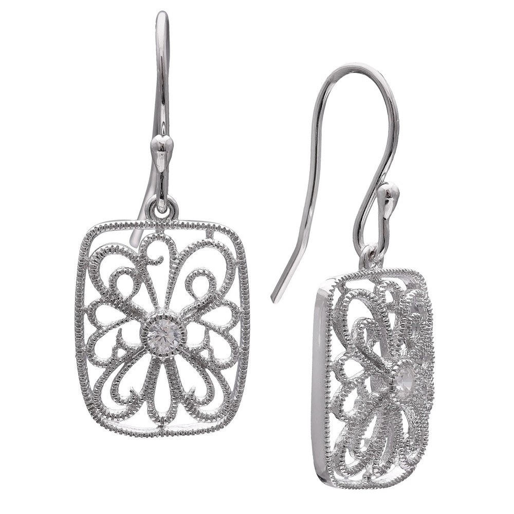3564a1cb8 Marcasite and Onyx Earring - Silver   Products   Silver earrings, Earrings,  Marcasite