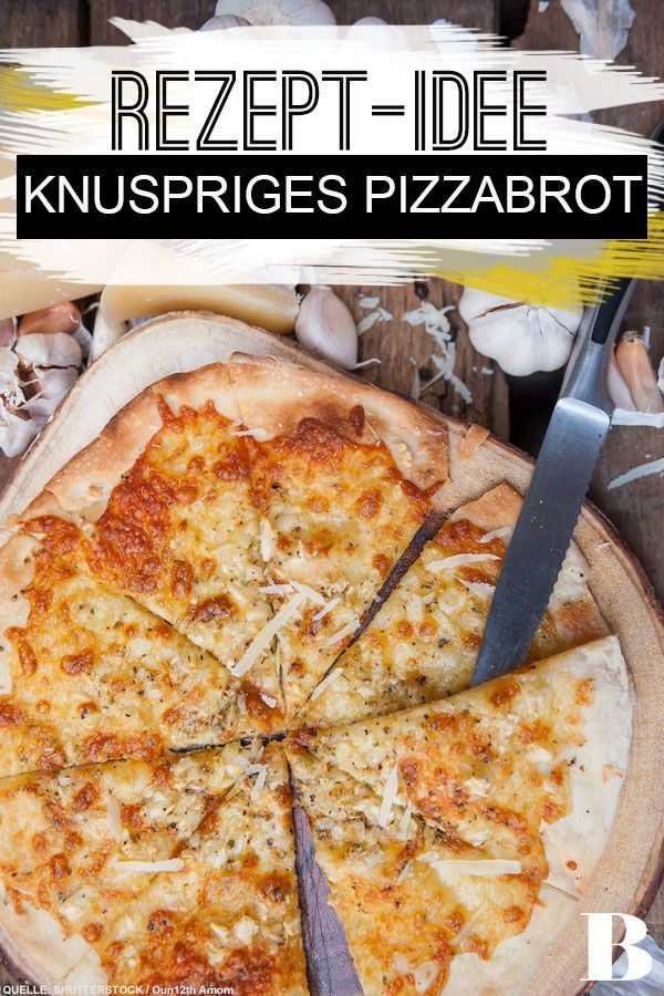 Knuspriges Pizzabrot