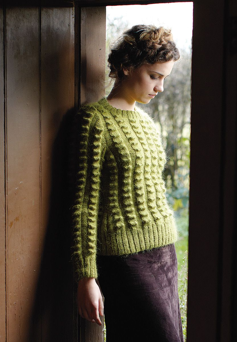NEW ROWAN PATTERN BOOK A/W 2013: Wilderness by Martin Storey, in Pioneer booklet, available July 15, 2013. Made with Creative Focus Worsted.