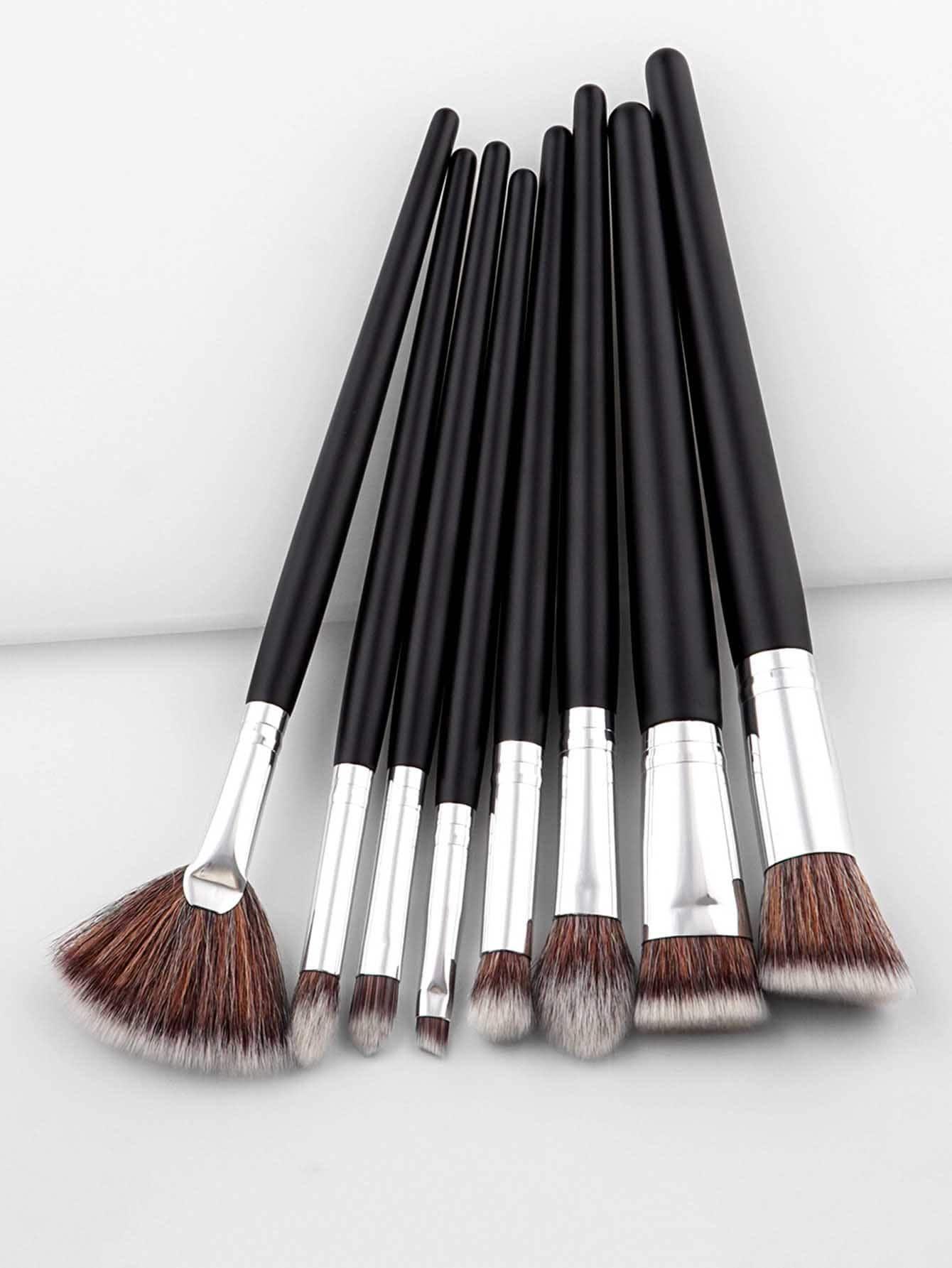 Duofiber Brush Set 8pcs Makeup brush set, Makeup brush