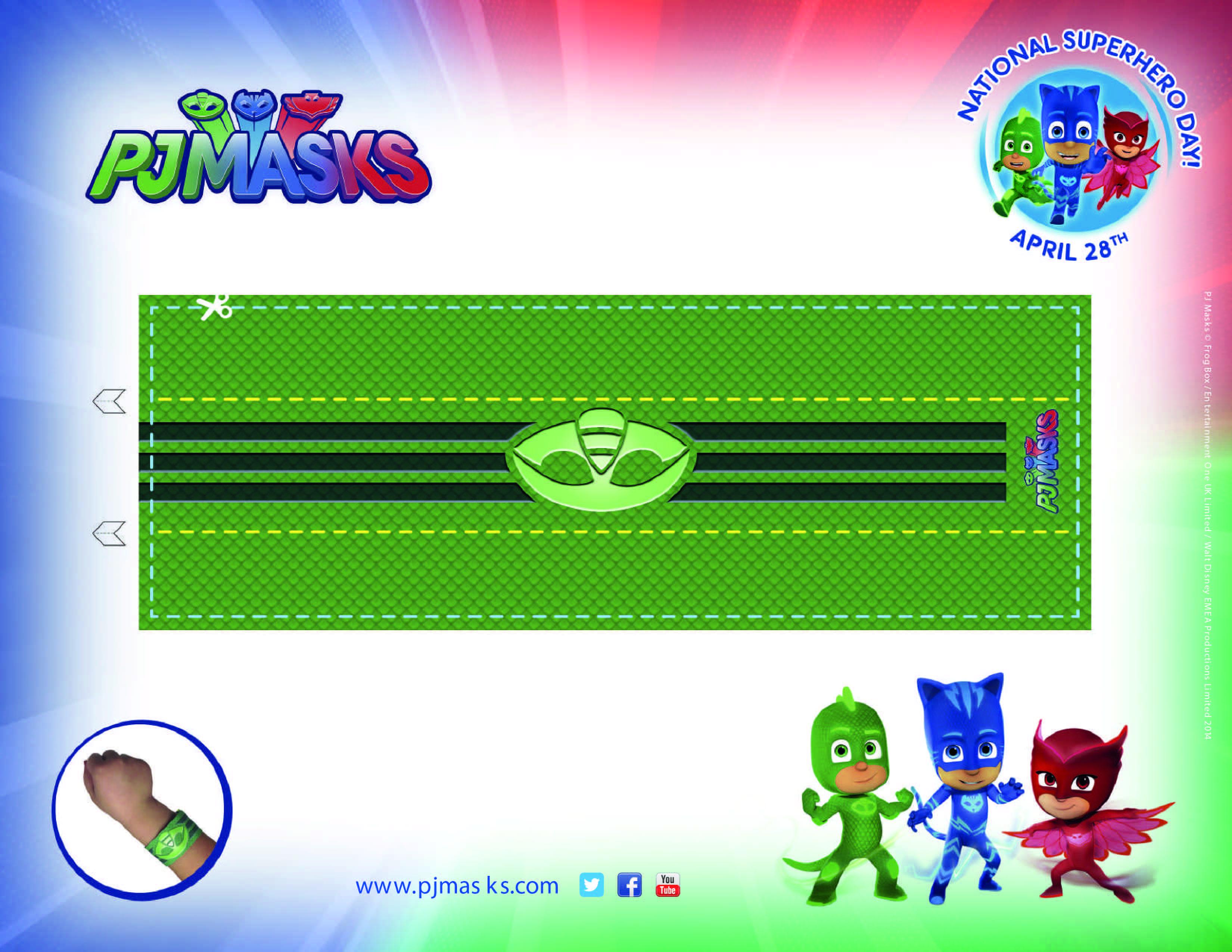 PJ Masks Party Printables Gekko Amulet For FREE Via Mandyu0027s Party Printables