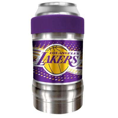0132741412f8aa NBA Los Angeles Lakers The LOCKER Insulated Can and Bottle Holder  Collection Silver